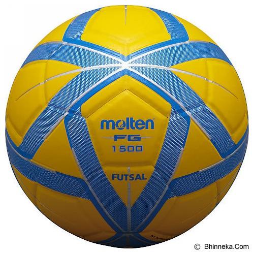 596a10760119d MOLTEN Bola Futsal  F9G1500  - Yellow Blue